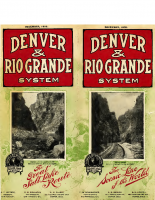 Denver and Rio Grande System – December 1909