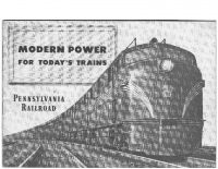 Modern Power for Todays Trains – Pennsylvania Railroad