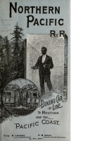 Northern Pacific R R – The Dining Car
