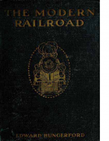 The Modern Railroad – Edward Hungerford