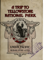 Union Pacific – A Trip to Yellowstone Park